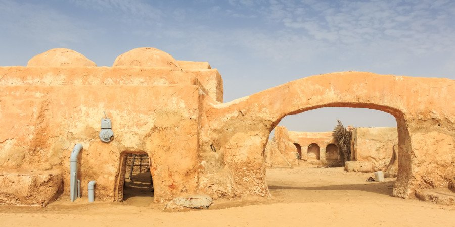 Set di Tatooine in Tunisia